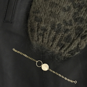 bracelet - mini eye on you - gold filled