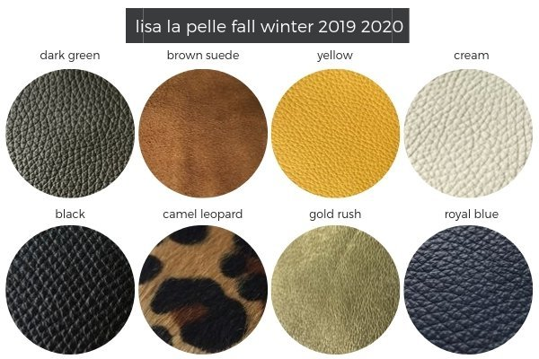 leather colours fw19-20