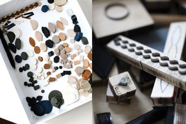 handmade leather jewellery