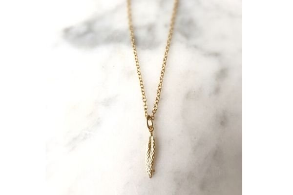 necklace single lana light - gold filled