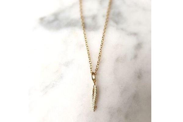 necklace single lana light - gold filled