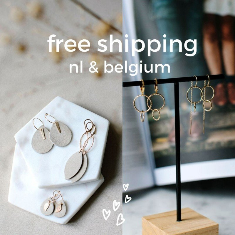 temporary offer - free shipping NL BE