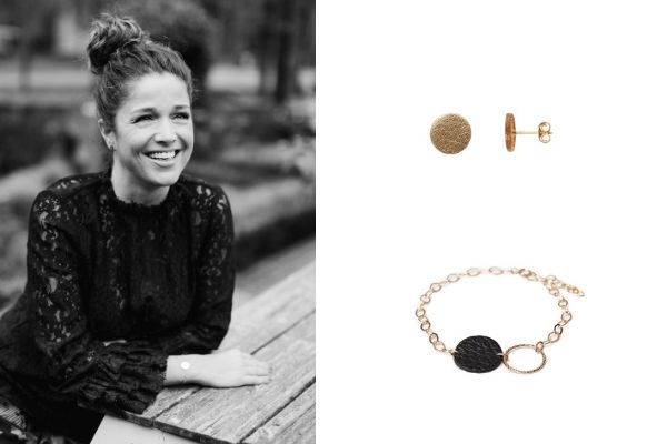 leather - gold filled jewellery