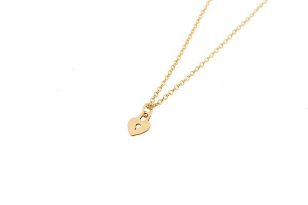 gold filled ketting - keep a scret