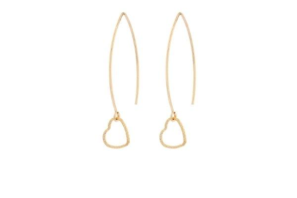 minimalistische oorbellen - gold filled