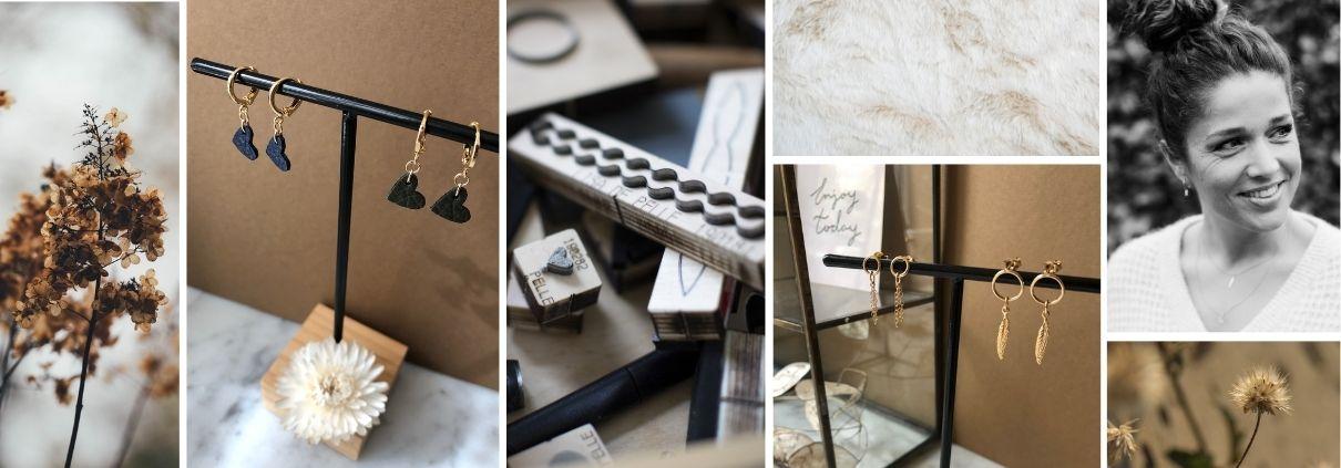 maatwerk sieraden - oorbellen - gold filled - handmade