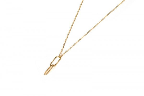 gold filled ketting - single grace