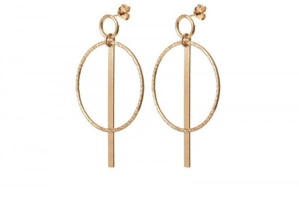 oorbellen - bella - gold filled - handmade